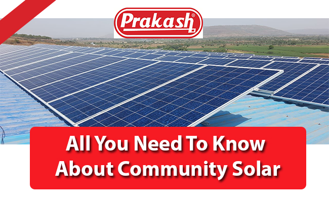 All You Need To Know About Community Solar