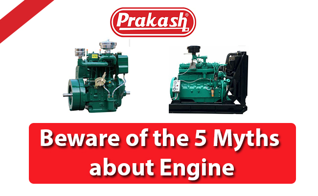 Beware of the 5 Myths about Engine